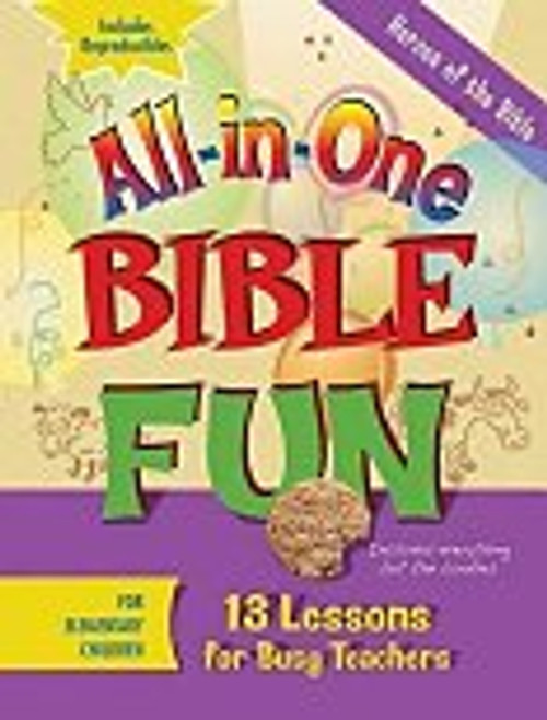 All in One Bible Fun Heroes of the Bible Elementary