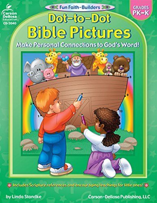 Dot to Dot Bible Pictures Grades PK-K