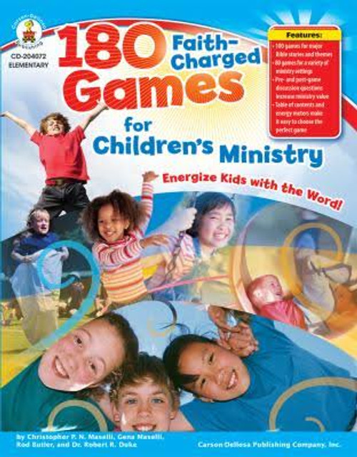 180 Faith Charged Games for Children's Ministry