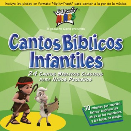 Cantos Biblicos Infantiles (music cd)