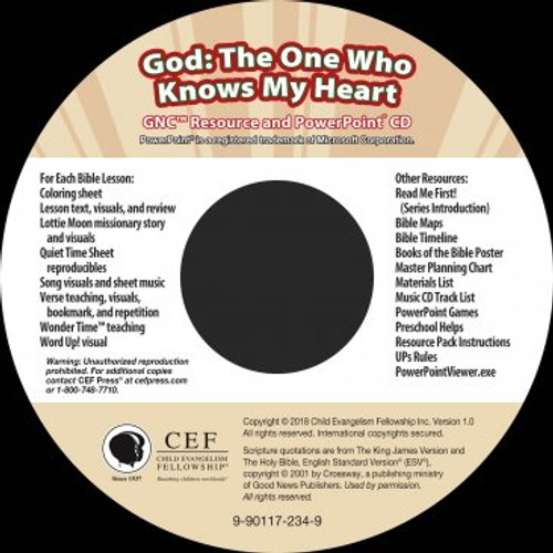 God: The One Who Knows My Heart 2018 (PPT)
