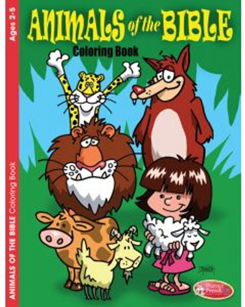 Animals of the Bible (activity book)