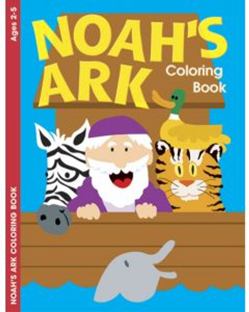Noah's Ark (coloring book)