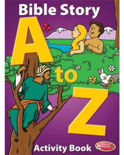 Bible Story A to Z (activity book)