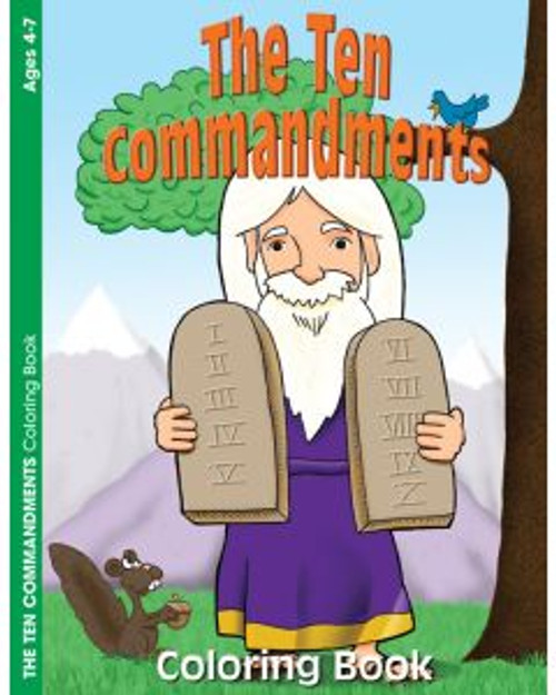 The Ten Commandments (coloring book)