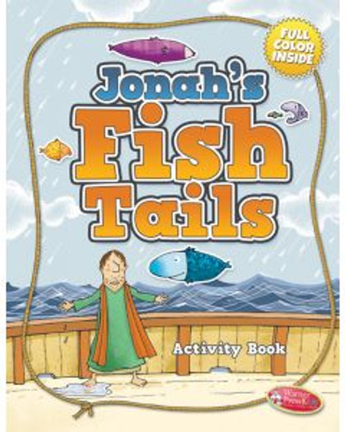 Jonah's Fish Tails (activity book)