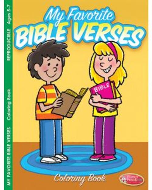 My Favorite Bible Verses (coloring book)