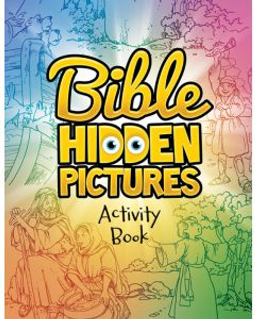 Bible Hidden Pictures (activity book)