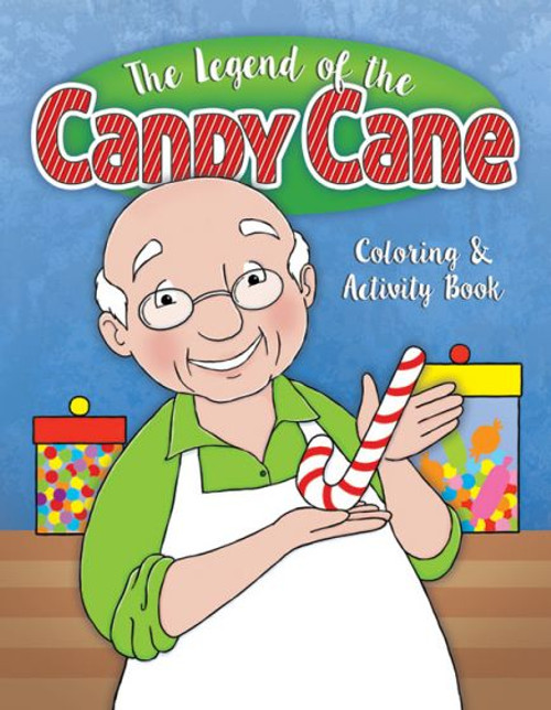 The Legend of the Candy Cane (activity book)
