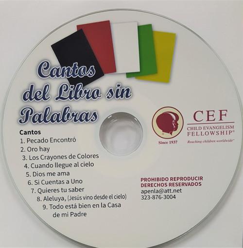 Cantos del Libro sin Palabras (music cd) - Child Evangelism ...