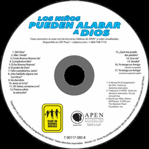 Los Niños Pueden Alabar a Dios (music cd)