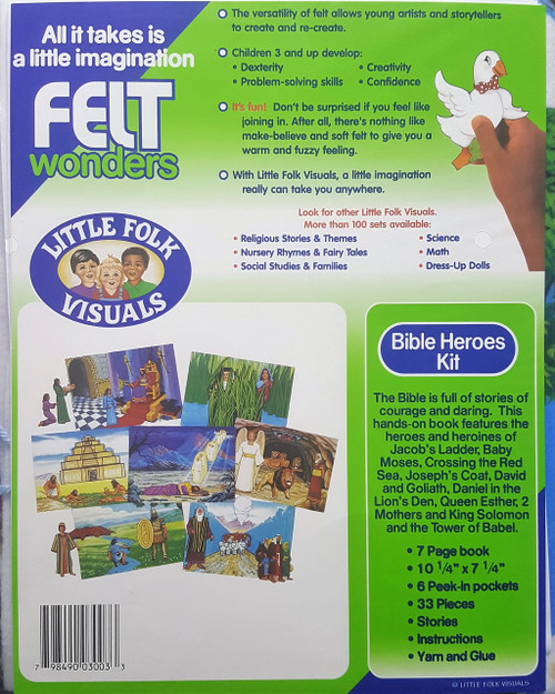 Bible Heroes Kit