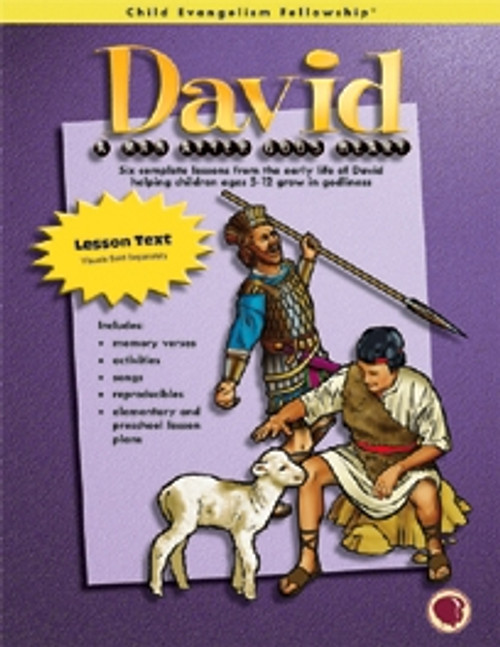 David: A Man after God's Heart (text book) while supplies last