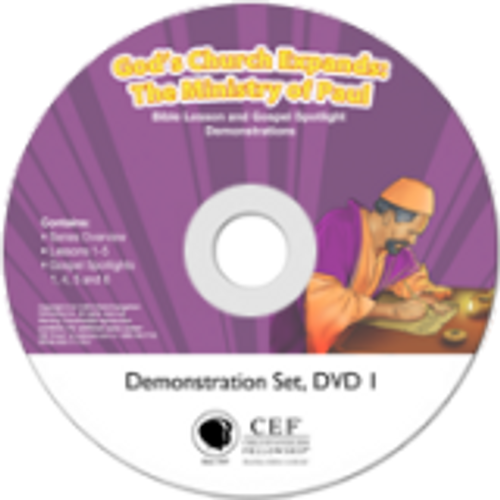 God's Church Expands: The Ministry Of Paul 2015 (demo)