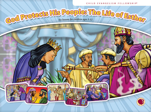 God Protects His People: The Life of Esther 2019 (flashcards)