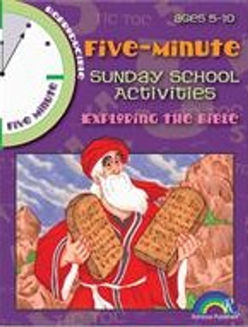 5 Minute Sunday School Activities Exploring the Bible