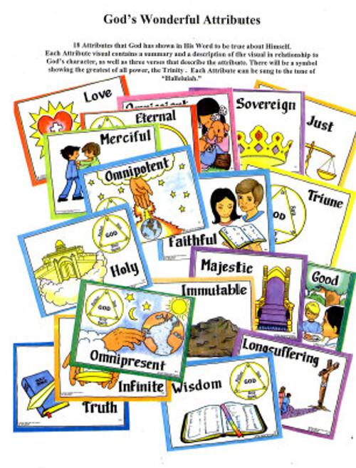 God's Wonderful Attributes (object story)