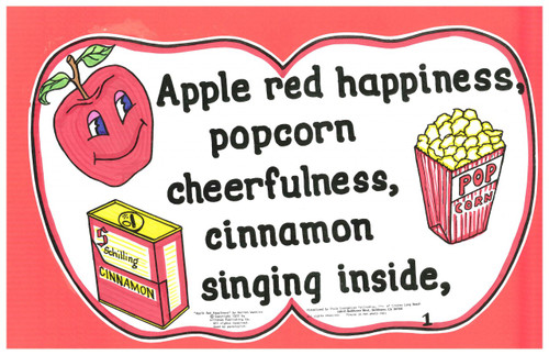 Apple Red Happiness
