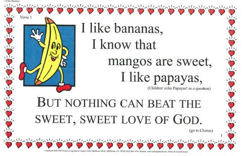 I Like Bananas