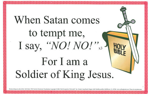 I'm a Soldier of King Jesus