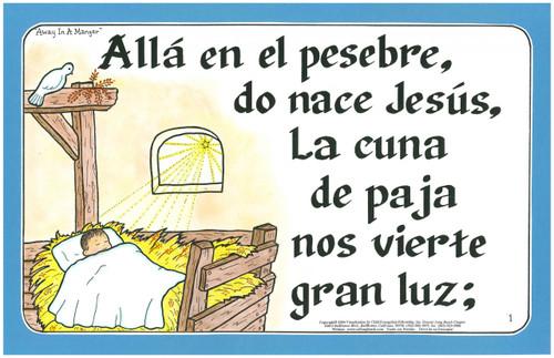 Alla En El Pesebre (Away in a Manger)