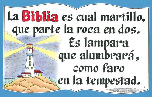 La Biblia Es Cual Martillo (Bible is Like a Hammer)