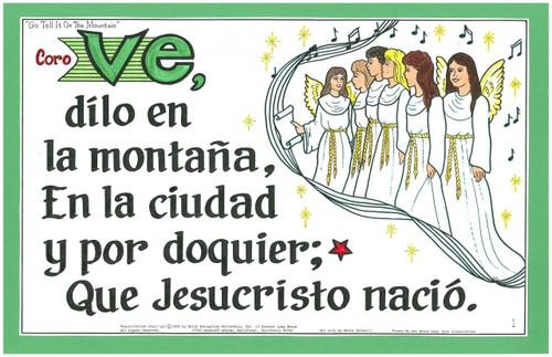 Ve, Dilo en la Montaña (Go Tell it on the Mountain)