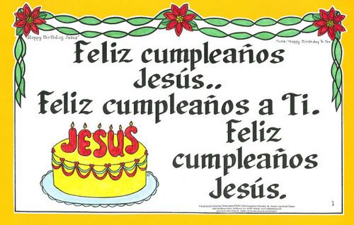 Feliz Cumpleaños Jesus (Happy Birthday Jesus)