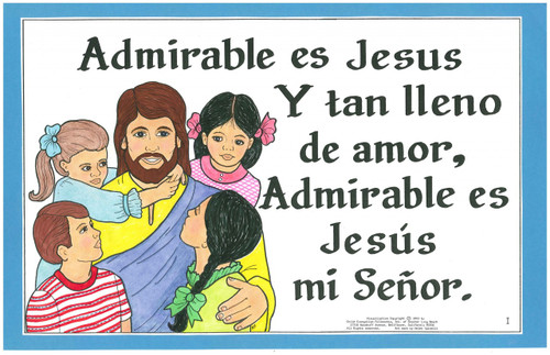 Admirable es Jesús (Isn't He Wonderful)