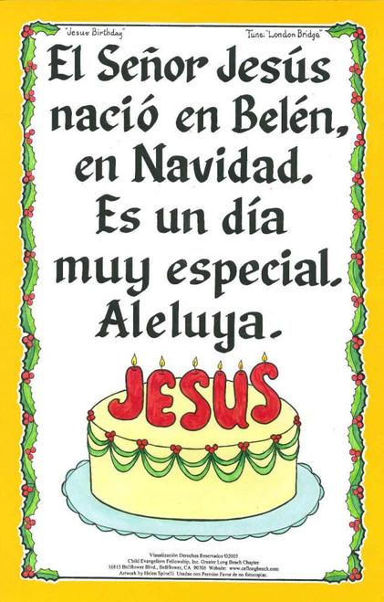 Cumpleaños de Jesús (Jesus Birthday)