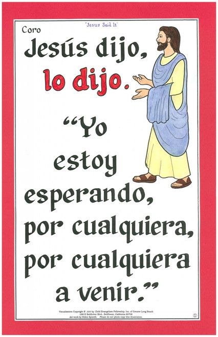 Jesús Dijo (Jesus Said It)