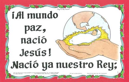 Al Mundo Paz Nació Jesús (Joy to the world)