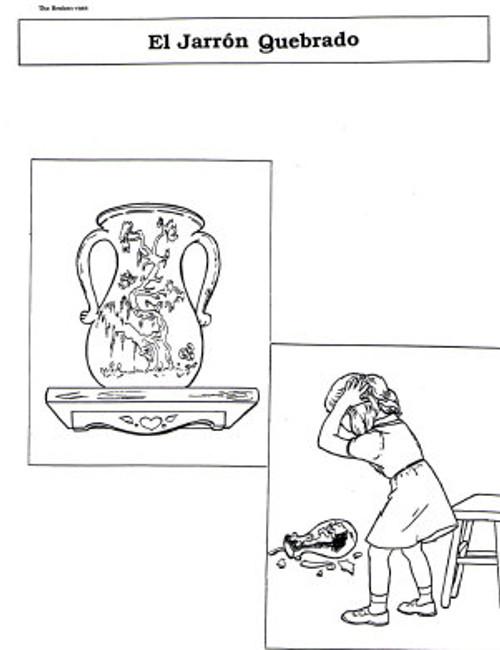 El Jarron Quebrado (Broken Vase)