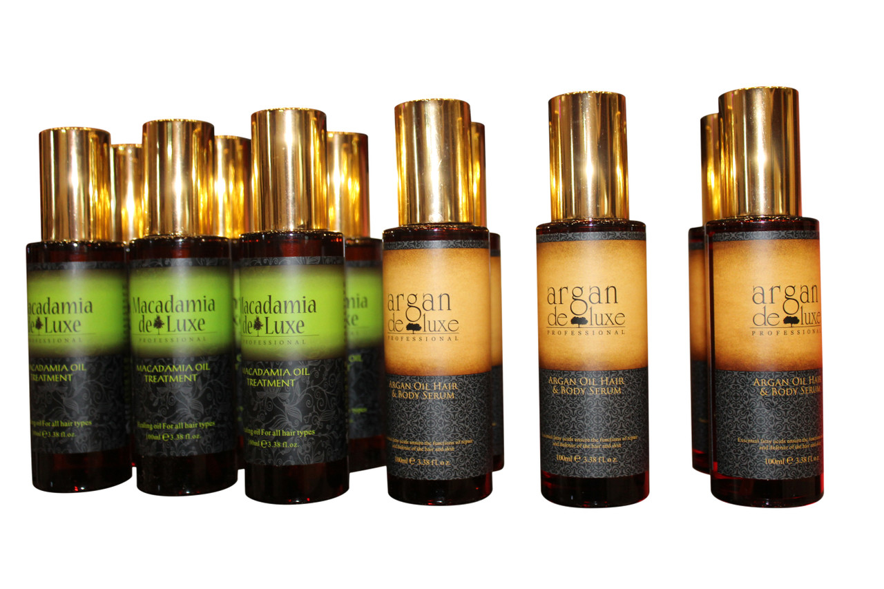 Why your hair needs Argan Oil from Argan Deluxe Luxury Line...Take your hair from dry and damaged to Strong and Shiny.