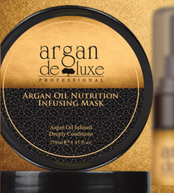 Argan Deluxe Moroccan Oil Deep Conditioning Hair Repair Mask