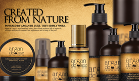 Argan Deluxe Pure Moroccan Argan Oil Hair & Body Serum
