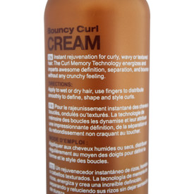 Thairapy Argan Oil Wash & Go Bundle with Bouncy Curl Cream, Shampoo & Conditioner