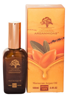 Arganmidas Moroccan Argan Oil treatments really versatile, nourishing and residue-free formula can be used as a conditioning, styling and finishing tool. It blends perfectly with other products and even speeds up drying time. This treatment for hair completely transforms and repairs as its formula transports lost proteins for strength; fatty acids, omega-3 oils and vitamins for shine; and antioxidants for protection. It absorbs instantly to fill gaps in hair created by heat, styling and environmental damage. Direction Arganmidas Moroccan Argan Oil is a unique serum with instant absorption into hair and skin to create a beautiful shine and long term conditioning. High in vitamin E and essential fatty acids, can be instantly absorbed into the hair and skin, and provide anti-oxidant to the hair and skin. Protects against UV damage and other environmental factors. Hair: A) After shampooing and conditioning, start with a small amount in the palm of your hands and work it through damp hair. Style as usual. Apply a few drops as often as needed to achieve soft, shiny hair. B) Before applying color, massage approximately 5ml of Arganmidas Moroccan Argan Oil to hair. This will enhance the hairs ability to absorb the color. Do not rinse hair before applying color or bleach. Add 4 to 5ml of Arganmidas Moroccan Argan Oil to color mix and continue normal color application and process. Body: Warm the oil in your hands and massage your body 2~3 times a week. The skin will be hydrated and become smoother and softer after use.