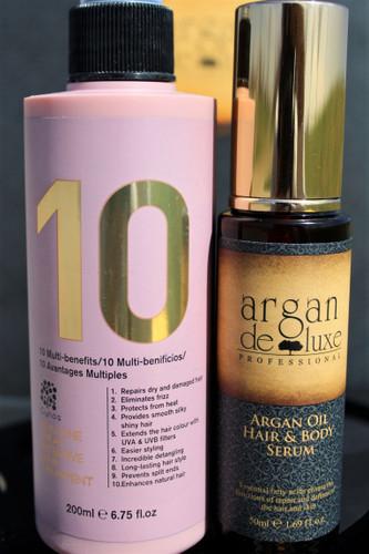 Argan Deluxe Professional 10 Spray, Morrocan Argan Oil Hair and Body Serum