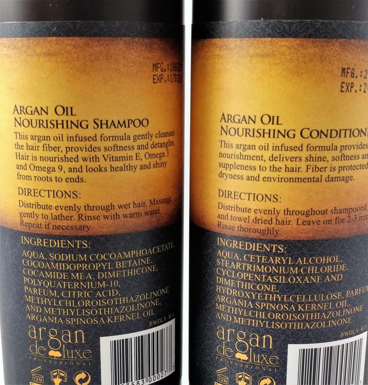Argan Deluxe Moroccan Oil Nourishing Shampoo 32 oz.