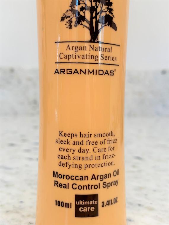 Arganmidas Frizz Control Thermal Protectorant Shine Spray & Moroccan Argan Oil Serum Combo Set