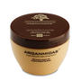 Give your hair the strength and shine it deserves with the Arganmidas Moroccan Argan Oil Instant Repairing Mask.  Made with a special blend of ingredients, including the Vitamin E, rich Argan oil, this unique mask will rehydrate, revitalize, and repair your strands so they stand out with a lustrous shine and silky smoothness.  With continue use your hair will gain the manageability and elasticity that you have always wanted.  Add it to already healthy hair for a brighter shine and even stronger strands!  Distribute a teaspoon of the mask evenly through clean, damp hair. Use more for longer hair or as a second application to ends and try a wide-tooth comb for more even distribution. Leave in for 10 minutes and then rinse thoroughly with warm water.