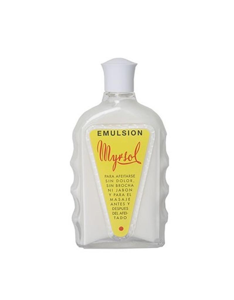 Myrsol Pre Shave Emulsion 180ml Glass Bottle | Agent Shave | Wet Shaving Supplies Uk