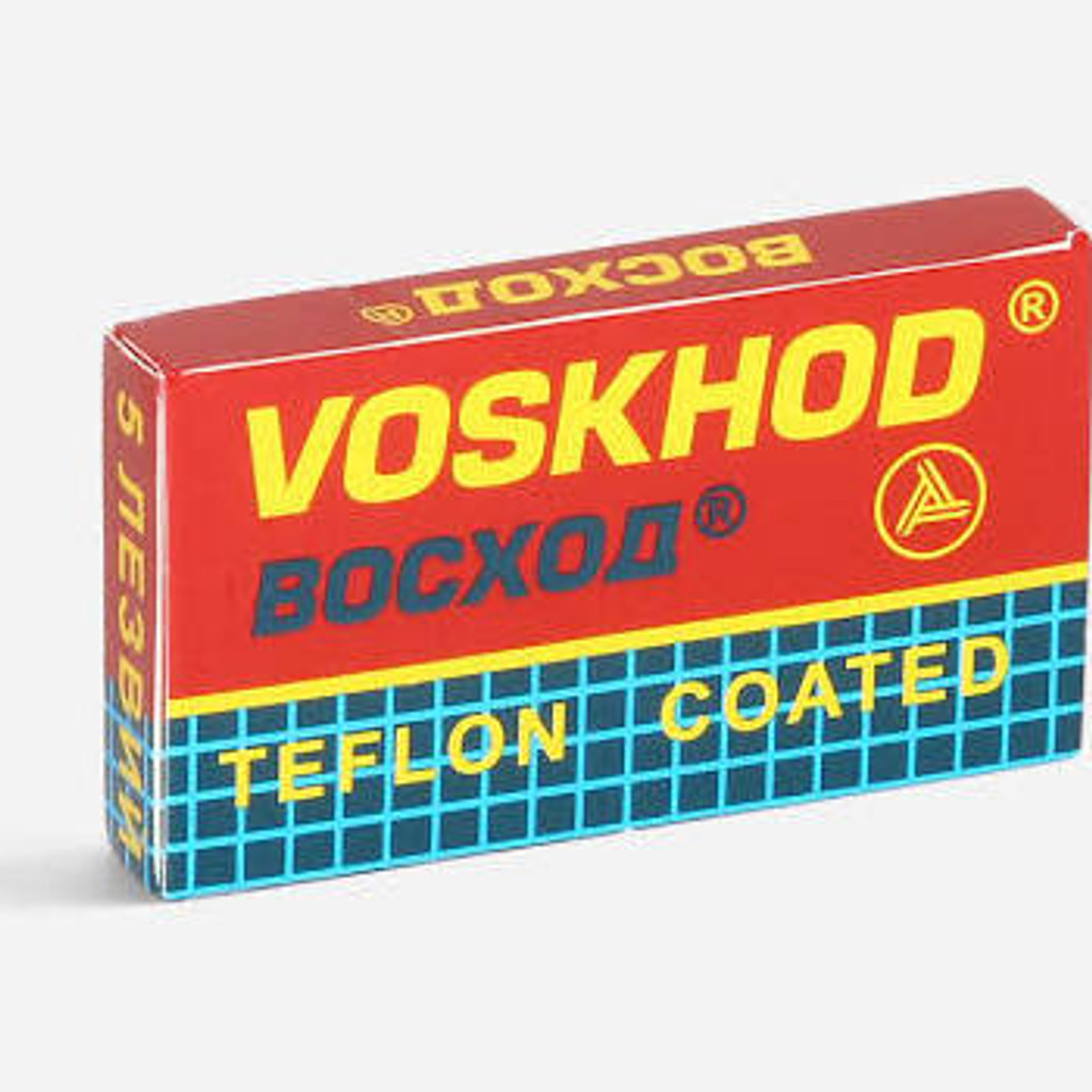 Voskhod Razor Blades - Teflon Coated | Agent Shave