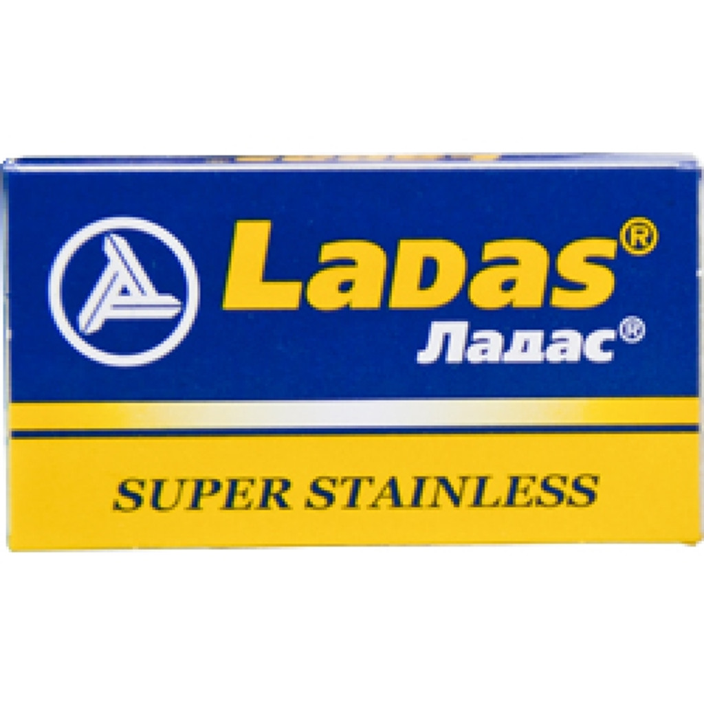 LaDas 'Super Stainless' Double Edge Safety Razor Blades   Agent Shave