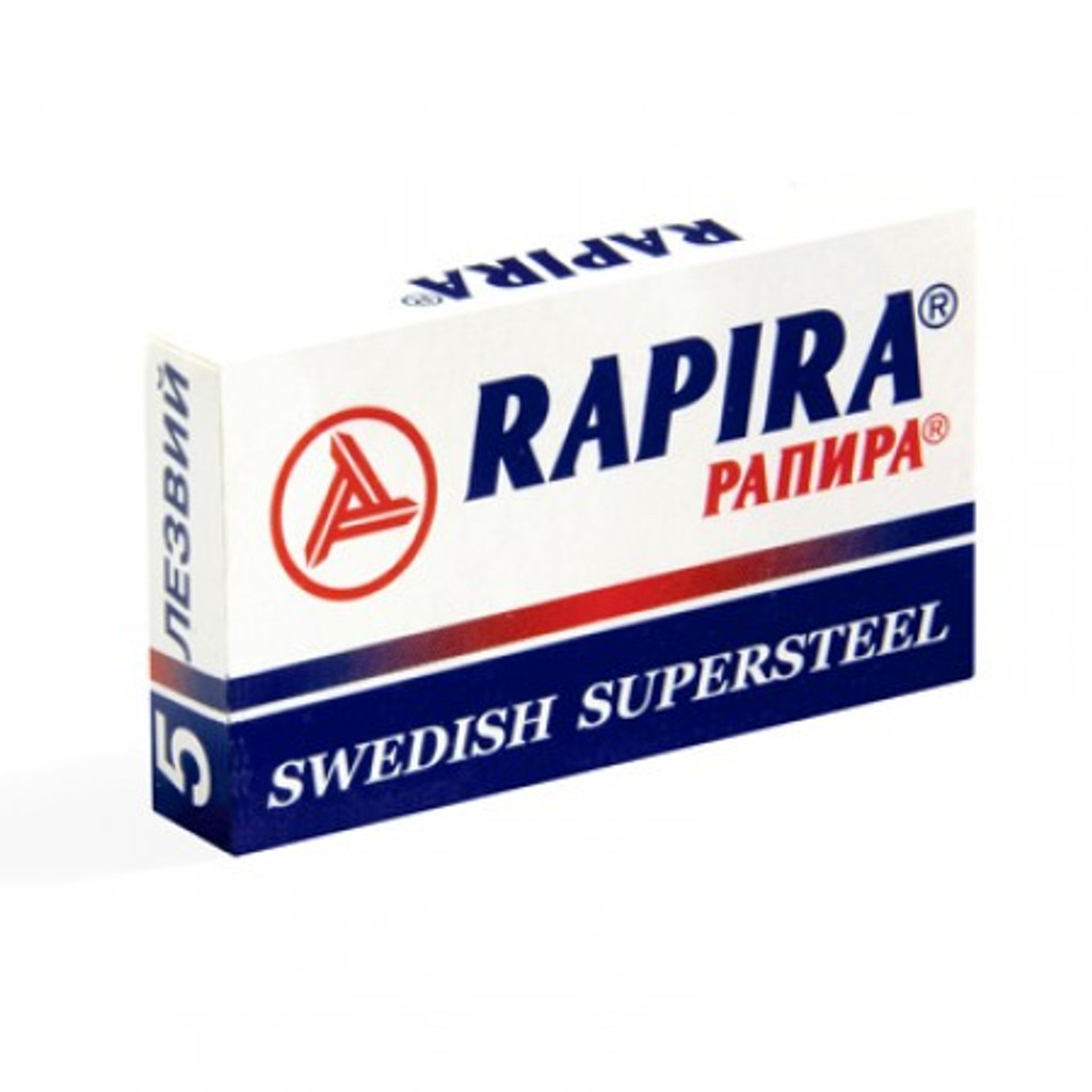 Rapira 'Swedish Supersteel' Double Edge Safety Razor Blades | Agent Shave