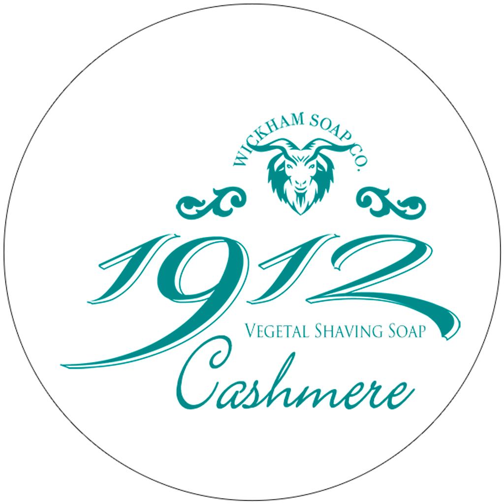Wickham Soap Co 1912 Shaving Soap - Cashmere | Agent Shave | Traditional Wet Shaving