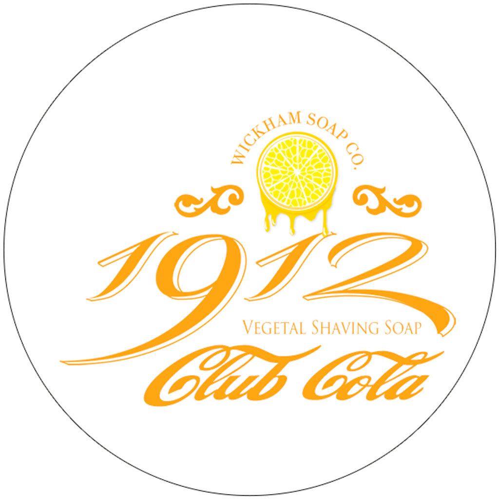 Wickham Soap Co 1912 Shaving Soap - Club Cola | Agent Shave | Traditional Wet Shaving