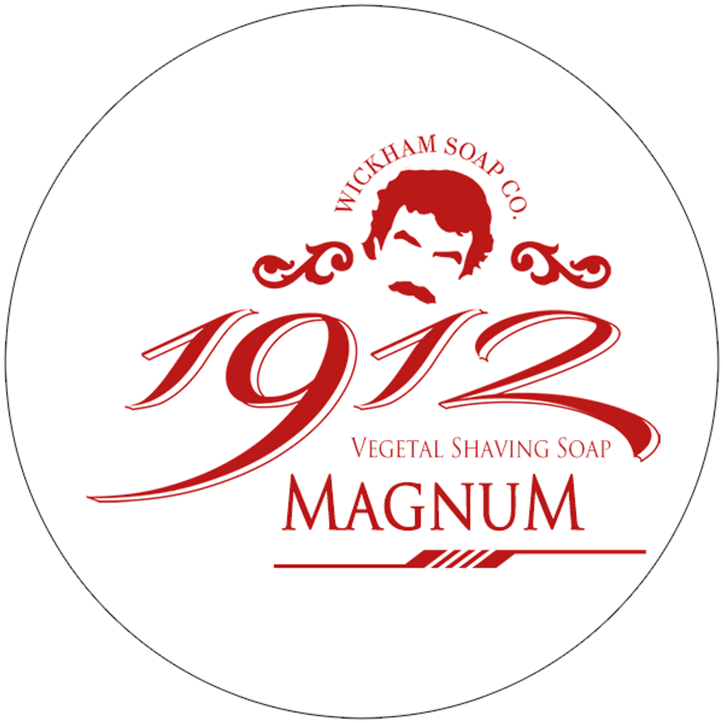 Wickham Soap Co 1912 Shaving Soap - Magnum| Agent Shave | Traditional Wet Shaving