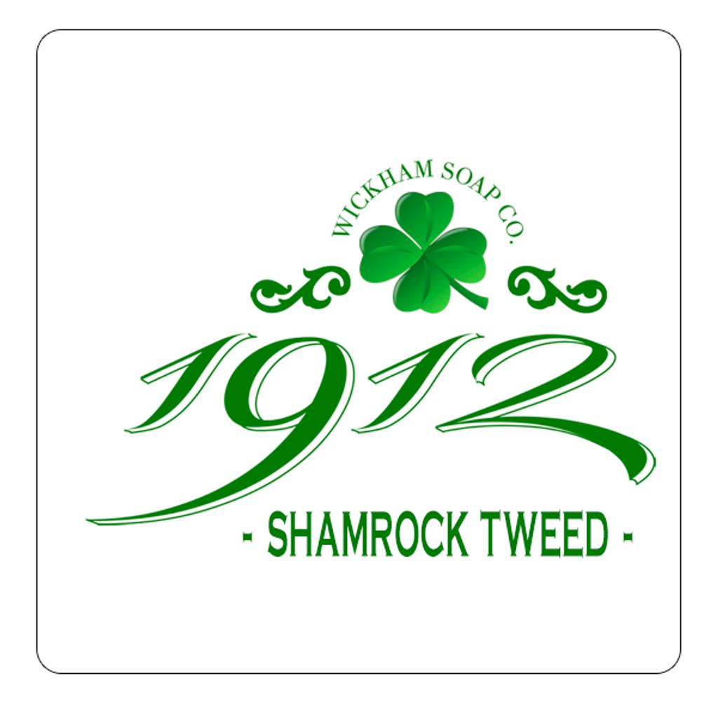 Wickham Soap Co 1912 Aftershave Balm - Shamrock Tweed | Agent Shave | Traditional Wet Shaving